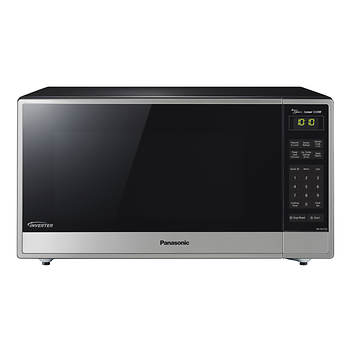 Panasonic 1.6-Cu.-Ft. 1,250W Microwave - Stainless Steel/Black