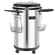 Igloo 1.7-Cu.-Ft. Party Cooler - Stainless Steel