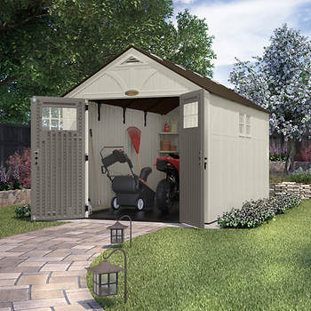 Suncast 8' x 13' Storage Shed with 2 Windows