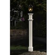 New England Arbors Langford Lamp Post