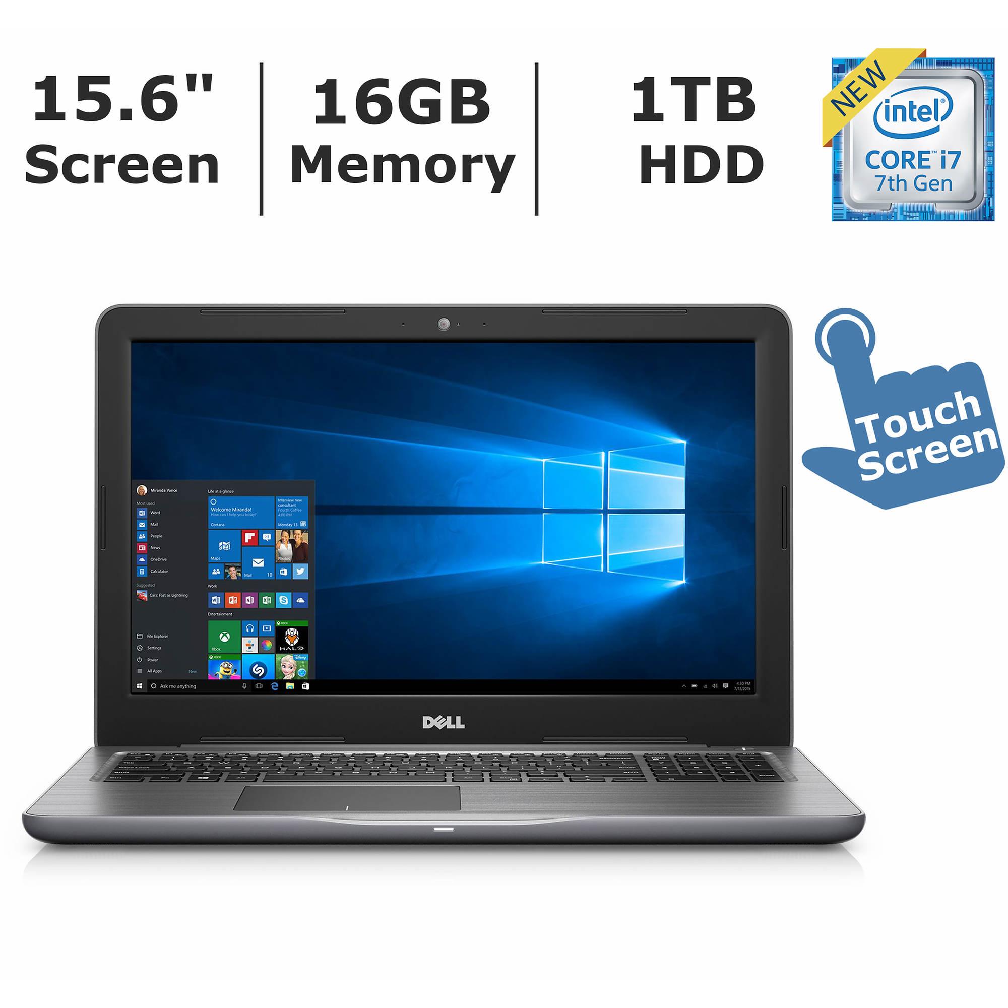 bj s whole club dell inspiron 15 5000 laptop intel core i7 7500u processor 16gb memory