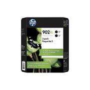 HP 902XL Black Ink Cartridges, 2 pk.