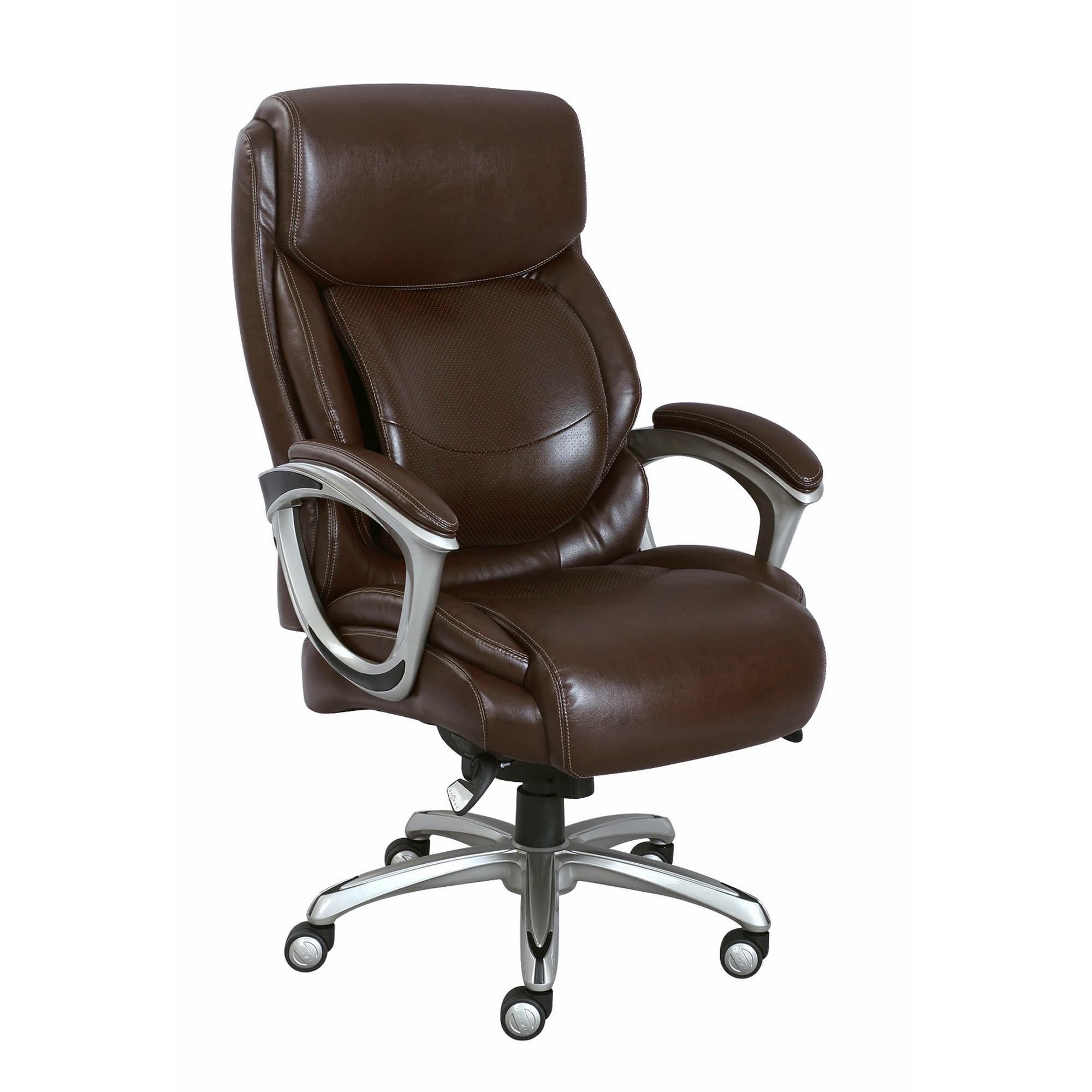 La-Z-Boy Big and Tall Bonded Leather Executive Chair ...