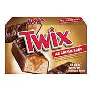 Twix Ice Cream Bars, 24 ct.