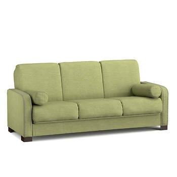 Handy Living Convert-A-Couch - Celery Green