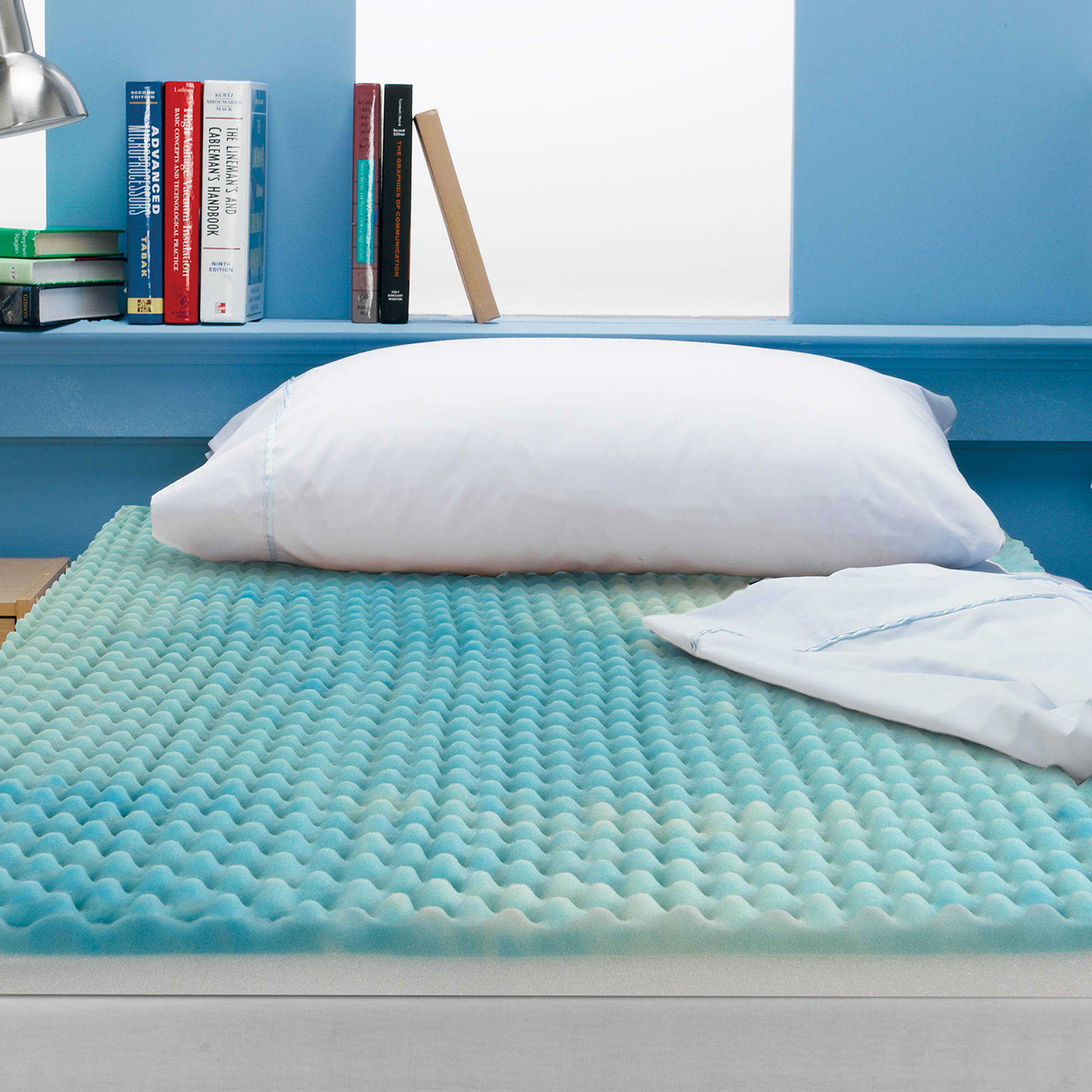 beautyrest 3 twin size reversible memory foam mattress topper bj 39 s wholesale club. Black Bedroom Furniture Sets. Home Design Ideas