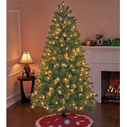 Sylvania 7.5' One-Plug Cashmere Tree