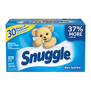Snuggle Blue Sparkle Dryer Sheets, 275 ct.