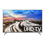 "Samsung UN65MU800D 65"" Premium 4K UHD Smart LED TV with $125 Google Pl"