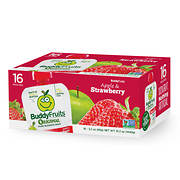 Buddy Fruits Original Apple & Strawberry, 16 ct./3.2 oz.