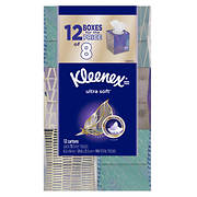Kleenex Ultra Soft & Strong Facial Tissues, 900 sheets