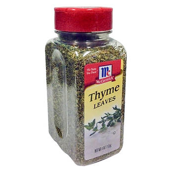 McCormick Thyme Leaves, 4 oz.