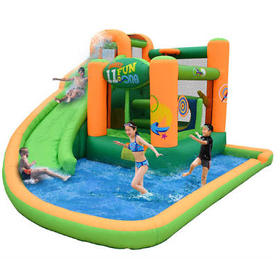 Endless Fun 11-in-1 Wet and Dry Bouncer with Slide and Pool/Ball Pit