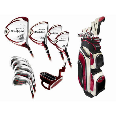 Orlimar Sport Black Ice Ladies' 3/9 Right-Hand Combo Golf Club Set