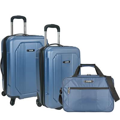 U.s. Traveler U.s. Traveler Bloomington 3-pc. Spinner Luggage Set - Blue