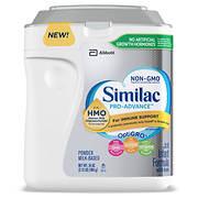 Similac Pro-Advance Non-GMO Infant Formula Powder, 34 oz.