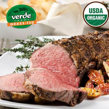 Verde Farms Organic Grass-Fed Beef Tenderloin, 3.5 lbs.