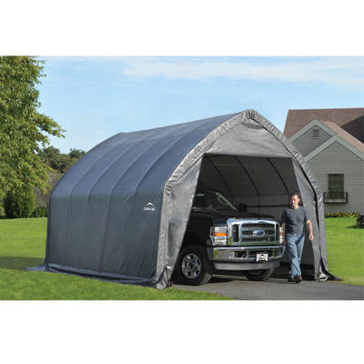 ShelterLogic 13' x 20' x 12' Garage-in-a-Box SUV/Truck Shelter
