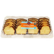 Wellsley Farms Sliced Pound Cake, 32 oz.