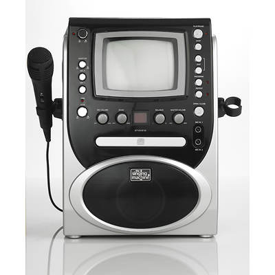 "The Singing Machine CD+G Karaoke System with Integrated 5.5"" Monitor"