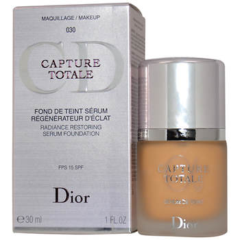 Christian Dior Capture Totale Radiance Restoring Serum Foundation SPF 15, 1 Oz.