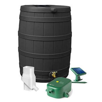 Rain Wizard 50-Gal. Rain Barrel with Eco Kit
