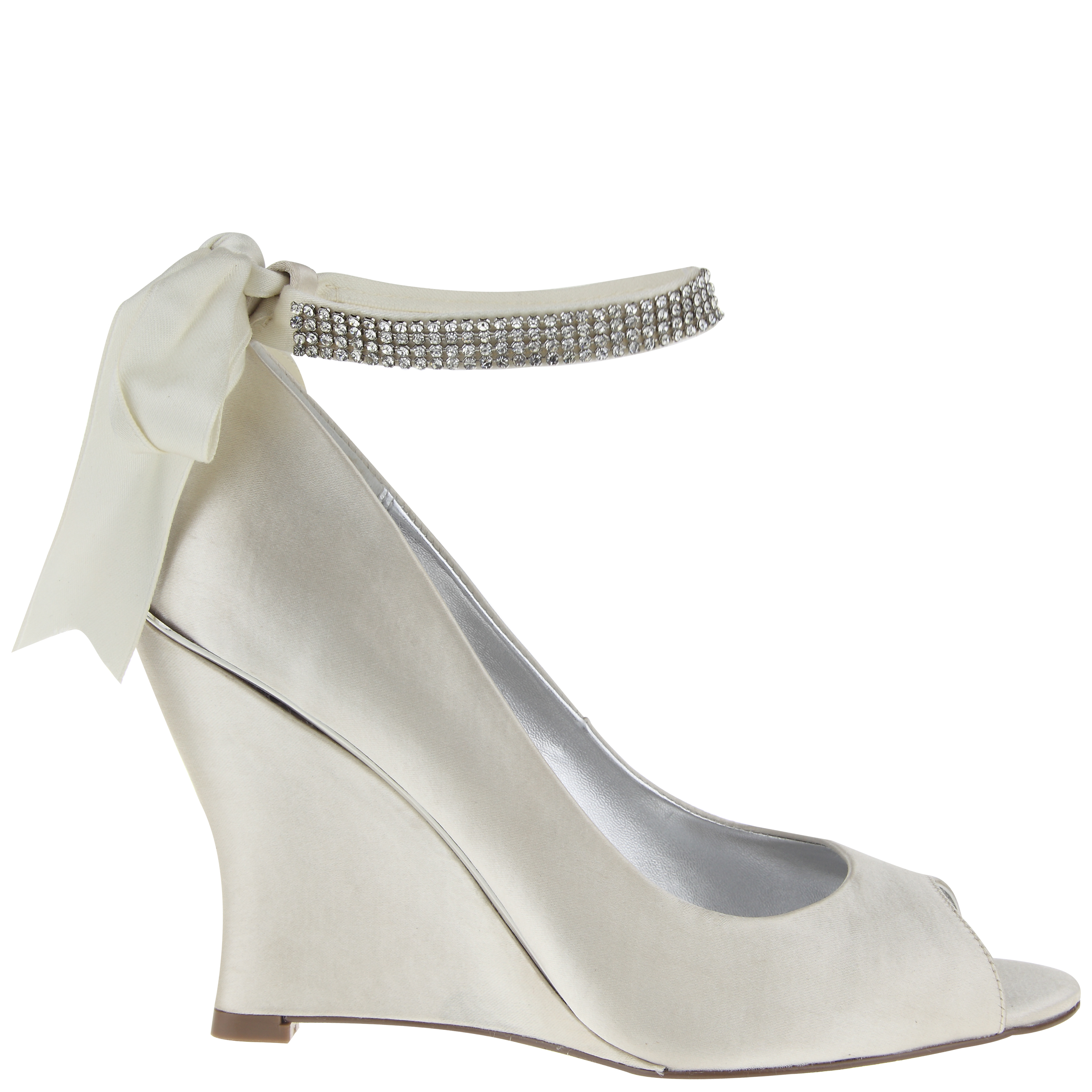 Wedding Shoes Bridal Shoes Pumps Sandals Wedge by Nina Shoes