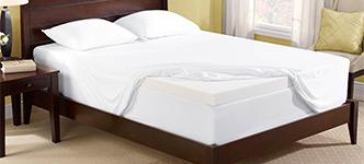 Novaform 3 Quot Pure Comfort Memory Foam Mattress Topper