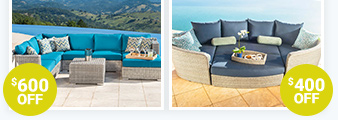 Save on Patio Furniture. While supplies last. Shop Now.
