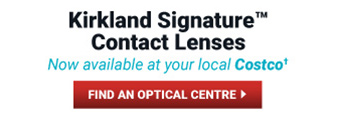 Kirkland Signature Contact Lenses. Now available at your local Costco! Find an optical centre.