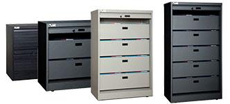 Dasco Security Filing Cabinet With Tambour Door
