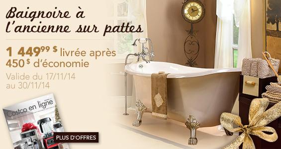 superbes conomies sur la baignoire l ancienne les. Black Bedroom Furniture Sets. Home Design Ideas