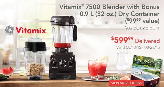 Vitamix 7500 Blender With Bonus 0 9 L 32 Oz Dry Container 99