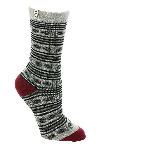 UGG® Fair Isle Fleece Lined Socks (Women's) | Maryland Square
