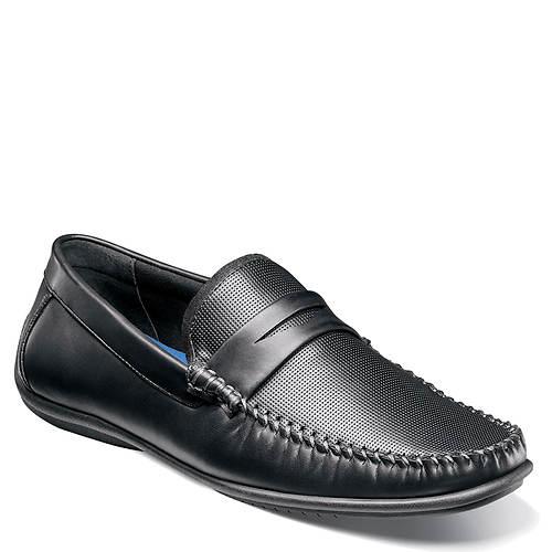 Nunn Bush Quail Valley Penny ... Men's Moc Toe Slip-On Shoes