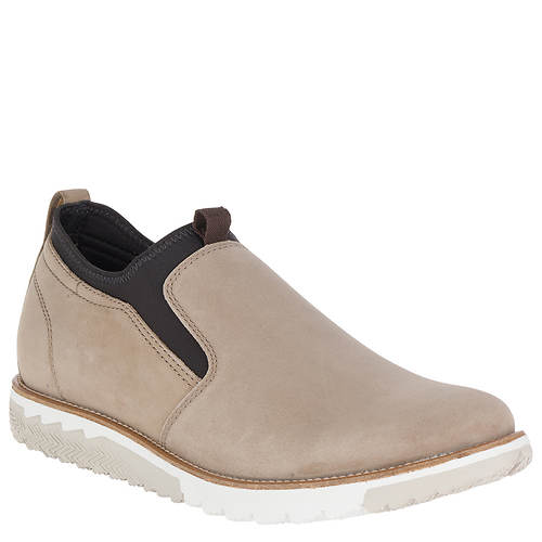 Hush Puppies Expert PT Slip-On (Taupe Nubuck) Mens Slip on Shoes