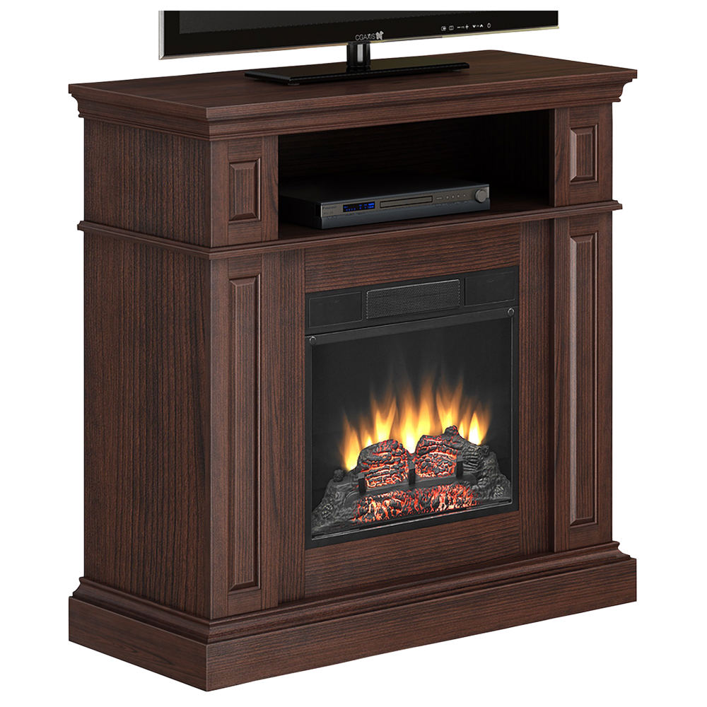 classic flame electric mantel fireplace stoneberry