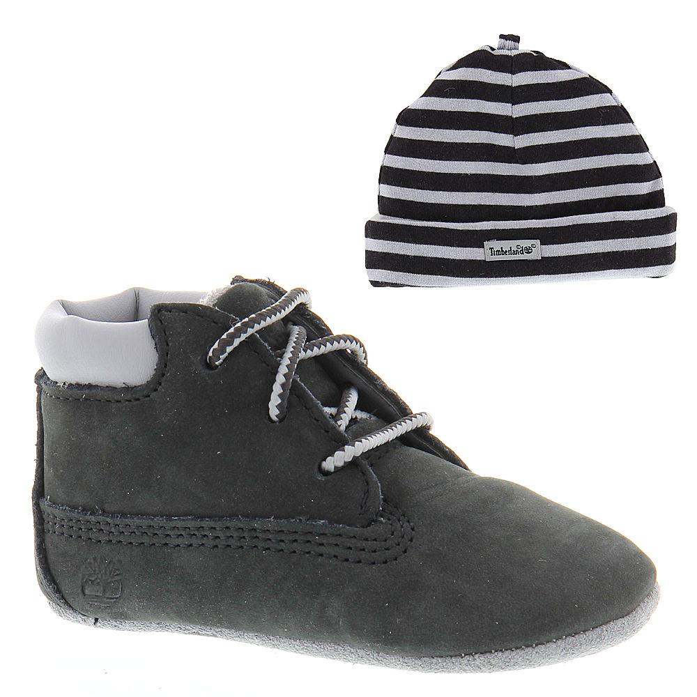 Timberland Baby Negro Crib Booties with Hat-Baby 0.5 I3ENUU8