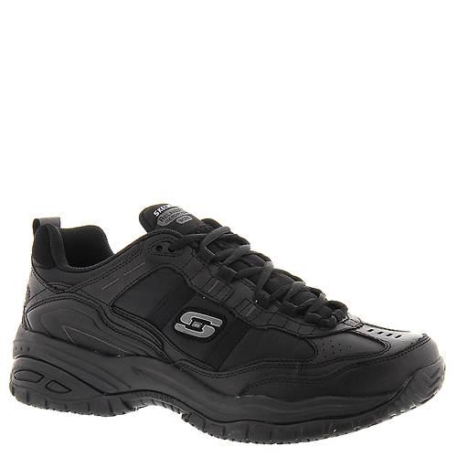 Skechers Work Men's Soft Stride Mavin Work Shoe, Black, 12 W US