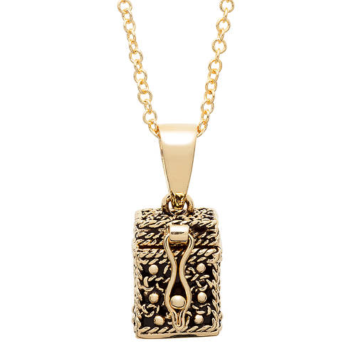 gold plating jewelry service near me gold plated prayer keeper box pendant stoneberry 2052