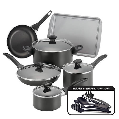 Farberware Nonstick 15-Piece Cookware Set - Color Out of ...