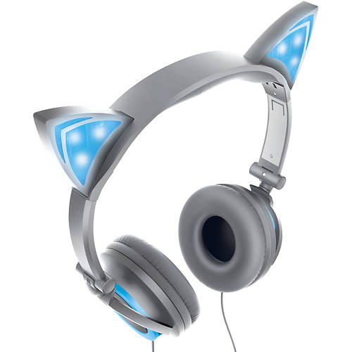 Sharper Image Light Up Cat Ear Headphones Color Out Of Stock