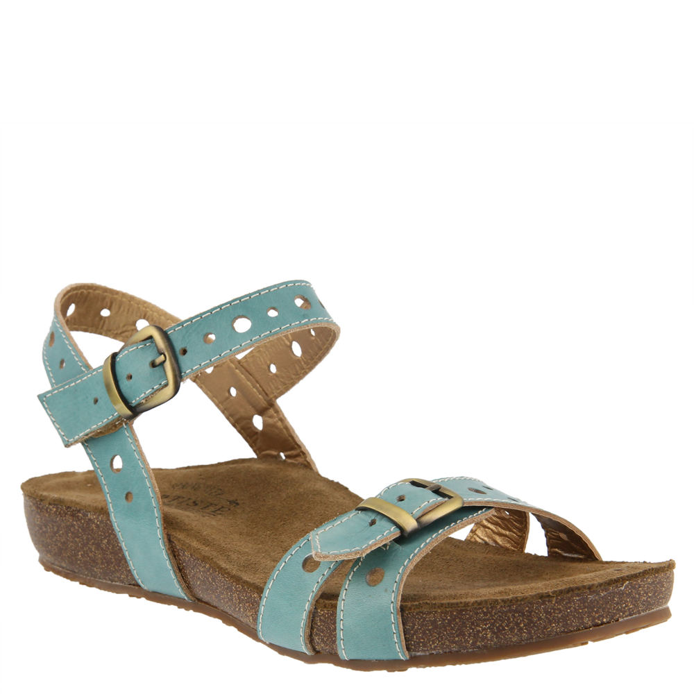 L'Artiste by Spring Step Technic Ankle Strap Sandal (Women's)