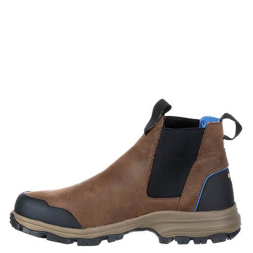 Romeo Collar Blue Boot men's Georgia qxfF7twt