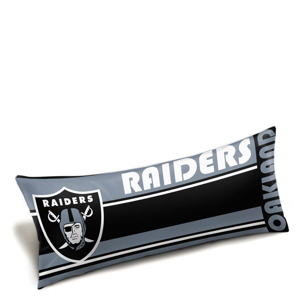 The Northwest Company NFL Oakland Raiders Logo Fabric Shower Curtain