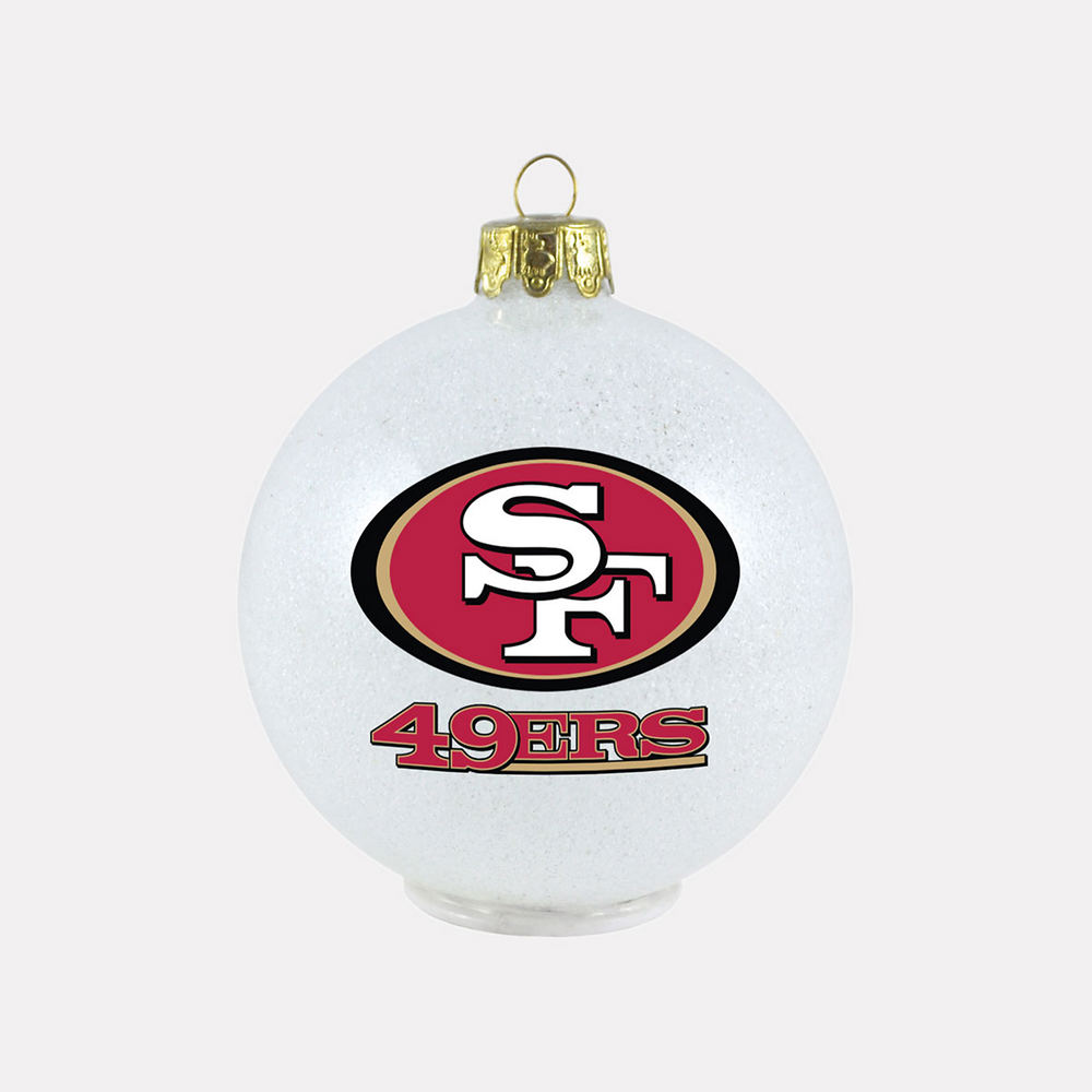 NFL Ornament - 49ers | Figi\'s Gallery