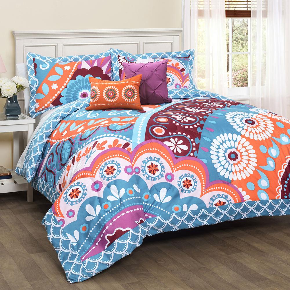 Lush Decor Maya 5 Piece Comforter Set Stoneberry Fisher Connector Fuse Box 1074926 1 A0