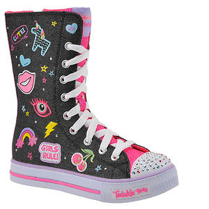Skechers Twinkle Toes Shuffles Patch Play (Girls' Toddler Youth)