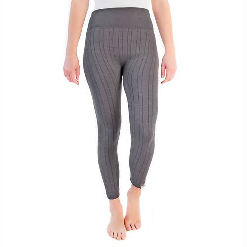 fb063f8f2df9e MUK LUKS Women's Cable Knit Leggings | FREE Shipping at ShoeMall.com