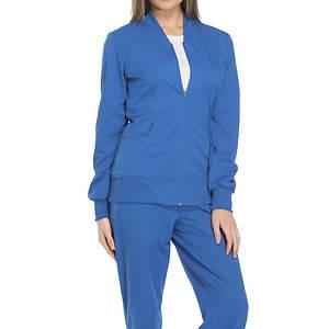 topowe marki ekskluzywny asortyment nowe obrazy Dickies Medical Uniforms Dynamix-Zip Front Warm-Up Jacket